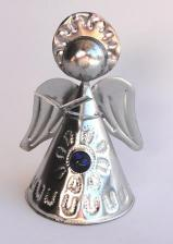 Tin Angel 4 inch With Jewel   #101