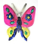 Tin Ornament Butterfly # 29
