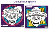 Calavera Decorarte     #P871
