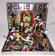 Day of the Dead VILLAGE Folding kit (Medium size)#T3001