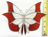 Giant Stained Glass  Butterlfy  Suncatcher # 377