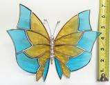 Giant Stained Glass  Butterlfy  Suncatcher # 383
