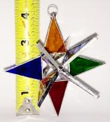 Stained Glass 4 in. Star MULTI COLOR #62