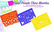PAPEL PICADO 12 pieces -  14 in. x 10 in. P1382
