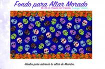 ALTAR Background Paper 12 pieces, 34 in. x 20 in.  Purple P1289