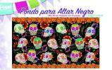 ALTAR Background Paper 12 pieces, 34 in. x 20 in.  BLACK  P1290