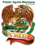 Poster Aguila Mexicana    #P1075