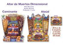 Altar De Muertos  Dimensional    #P147