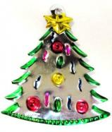 Tin Ornament Christmas Tree # 22